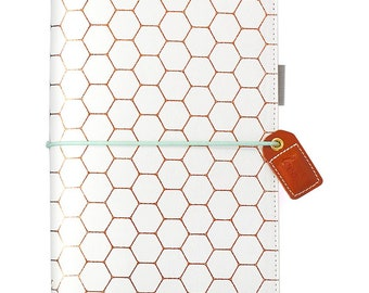 Copper Hexagon STANDARD TN Color Crush Webster's Pages Travelers Planner • Free Washi Tape with this order (TJ001-H)