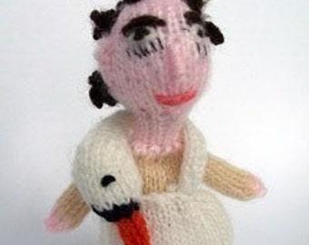Bjork style Finger Puppet