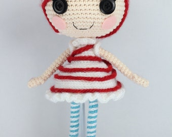 PATTERN: Mint Crochet Amigurumi Doll