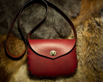 DISCOUNTED Red Leather Purse