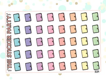 Leatherbound Planner Personal Planner Stickers