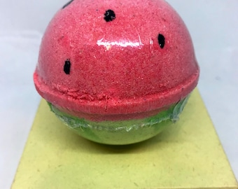Watermelon Bath Bomb, 5 sizes to choose from with Free Shipping inside the United States
