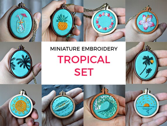 10 Mini Embroidery Designs Beginner Embroidery Patterns Diy