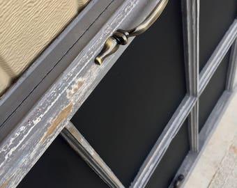 Rustic Window Pane Chalkboard