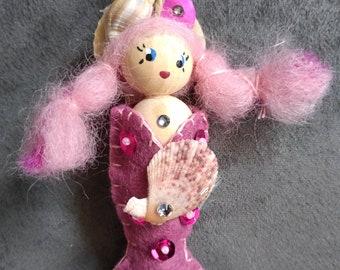 Pink Little Mermaid