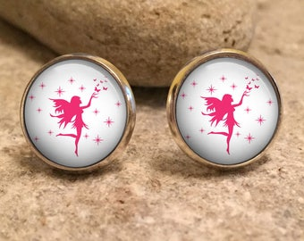 Fairy Earrings, fairy jewelry, fairy studs, fairy jewellery, cute earrings, fairy gift, fairy jewelry, gift for her, christmas gift,