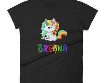 Briana Unicorn Ladies T-Shirt