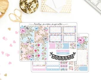 Blue & Pink Roses Mini Kit