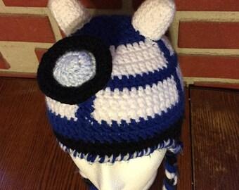 The DarDis Hat || Dalek & Tardis || Doctor Who Inspired || Crochet Hat