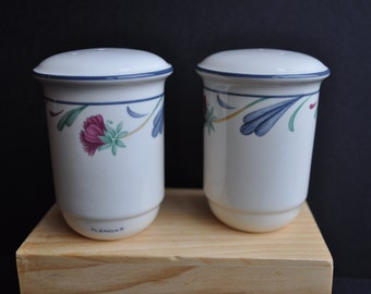 Pretty Lenox Porcelain Salt and Pepper Shakers