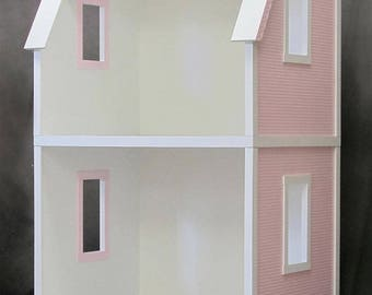 American Girl Dollhouse Kit, 18 Inch Doll House, My Dreamhouse 2-Story Unfinished Dollhouse Kit for 18 Inch Dolls