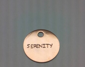 Serenity Keytag