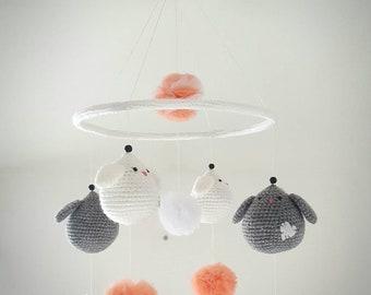 Baby birds mobile
