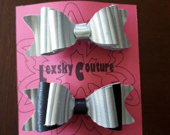 Hair barrette bows