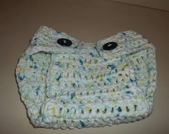 Crochet pattern diaper cover pattern