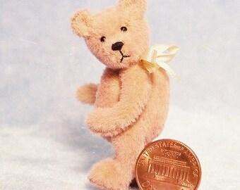 Peach-A-Poo - Miniature Teddy Bear Kit - Pattern - by Emily Farmer