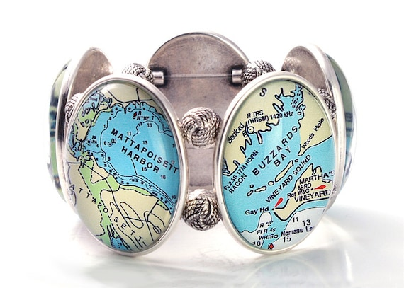 Buzzards Bay Five-Cameo Stretch Bracelet