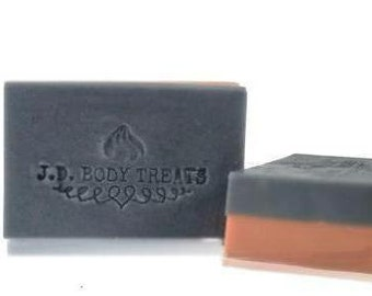 Rose Clay & Charcoal Essential Oil Soap