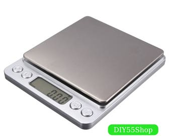 High Quality 500g x 0.01g Scale Electronic Pocket Precision Balance Quality Digital Scales Jewelry Gold Gram Balance Weighting Scale
