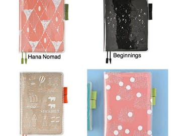 Hobonichi Techo cover on cover for cousin