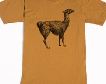 Llama Shirt Men's Llama Shirt Men's Shirt Llama Gifts Men's Graphic Tee Llama Funny Shirt Animal Shirt Llama Art