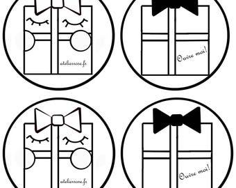 fabric pattern gift
