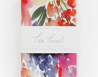Meadow - Watercolor Tea Towel