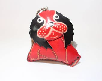Handmade Real Leather Dog Coin Purse