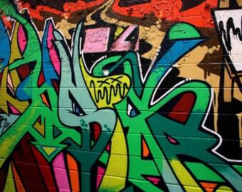Graffiti Wall Photograph