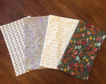 Burp Cloth Set - Girl