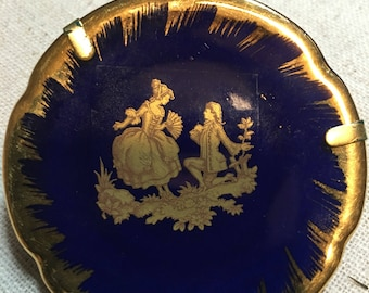 Tiny Limoges Plate