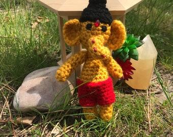 Crochet Mini Ganesh Doll