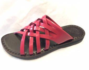 Handmade Leather Sandals Women and Men ***Casting Net***