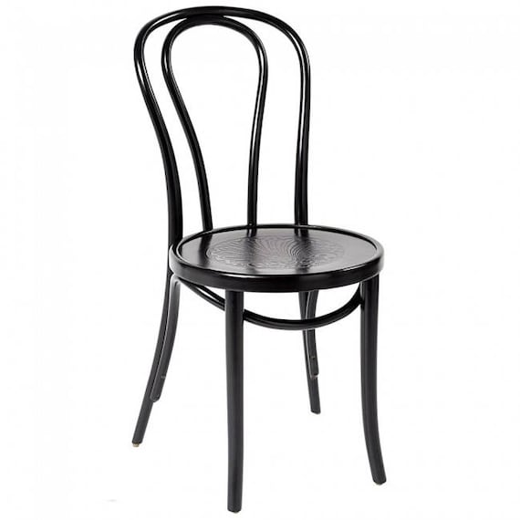 Elegant Genuine No 18 Bentwood Dining Chair By Michael Thonet