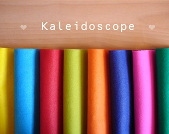 Kaleidoscope -Irisfelt Collection- 8 pieces 15 x20cm