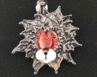 Red Lion Pendant
