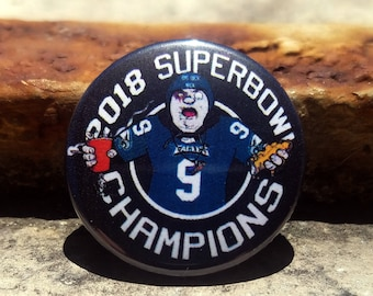 CWA 2018 Superbowl Champions 1 inch Button