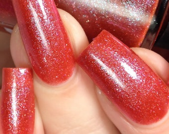 Te Amo - Red Valentines Day Indie Nail Polish