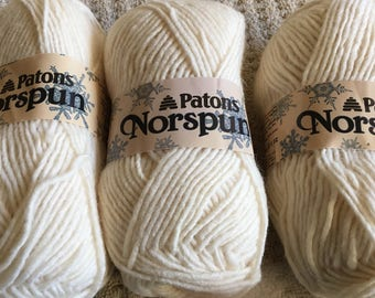 Norspun by Patons - Acrylic & Wool blend - Made in Canada