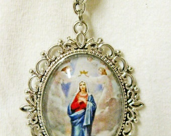 Immaculate Conception necklace - AP09-004