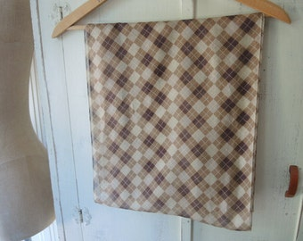Vintage 1980s sheer polyester scarf Cejon accessories  14 x 64 inches