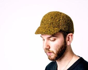 Tweed Cycle Cap - PDF Crochet Pattern