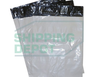 """50 7.5x10.5 White Poly Mailers Bag (Non-Bubble) 1.7mil Shipping Envelopes Self-Seal 7.5""""x10.5"""" *FREE SHIPPING!* PM1.7(7.5x10.5) 50"""