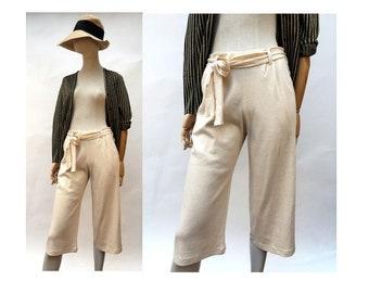 1990s  Sonia RYKIEL cotton Short PANTS // size Small