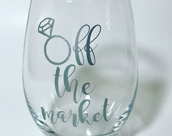 Off the Market Stemless Wine Glass