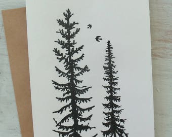 Les jumeaux / Twin trees