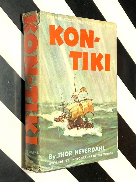 Kon-Tiki by Thor Heyerdahl (1950) hardcover book