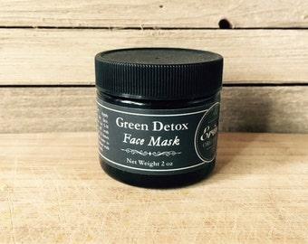 Green Detox Face Mask