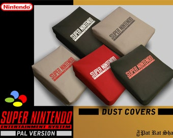 PAL Super Nintendo Dust cover