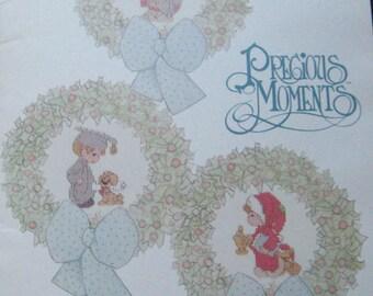 Precious Moments In Miniature Cross Stitch Pattern Book